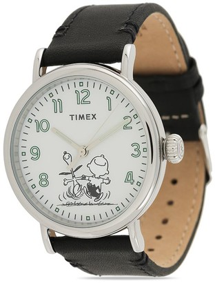 Timex x Peanuts 70th Anniversary Chrome Case 40mm