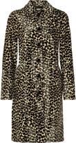 Michael Kors Printed calf hair coat
