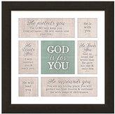 "Carpentree 14"" x14"" God Is for You Framed Art"