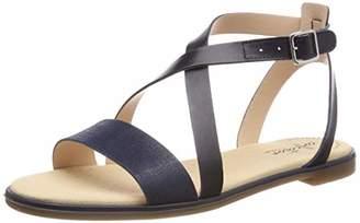 Clarks Women's Bay Rosie Ankle Strap Sandals, Black Interest