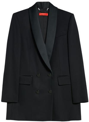 Max & Co. Veduta Double-Breasted Blazer Jacket