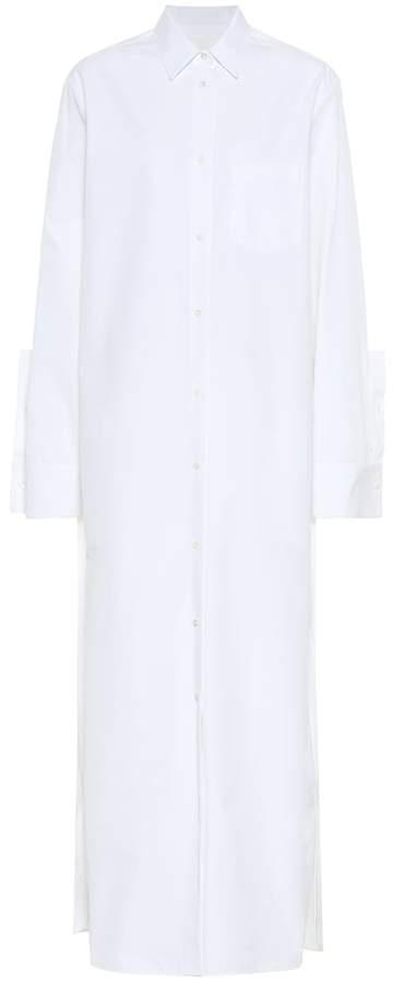 Jil Sander Cotton-poplin shirt dress