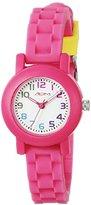 American Design Machine Jr. Kids' ADSG 5004 HPNK Selma Analog Display Japanese Quartz Hot Pink Watch