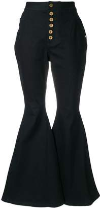 Ellery high waisted flared jeans