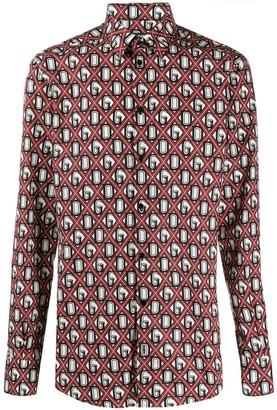 Dolce & Gabbana diamond check shirt