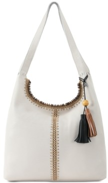 The Sak Huntley Crochet-Trim Hobo