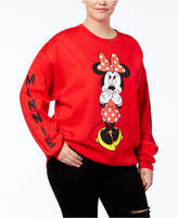 Hybrid Trendy Plus Size Minnie Mouse Graphic Sweatshirt