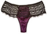 Mimi Holliday Bisou Bisou Plum Corset Boyshort