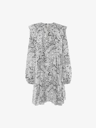 Alexander McQueen Art Nouveau Mini Dress