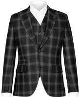 Gibson Charcoal Tartan Check Jacket