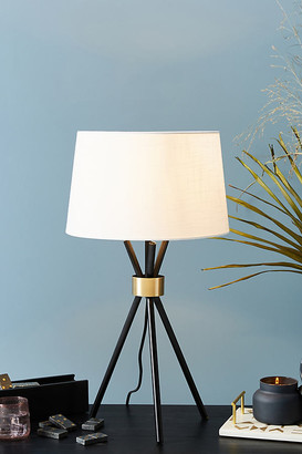 Anthropologie Benson Table Lamp By in Black Size ALL