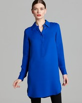 Vince Camuto Long Henley Tunic