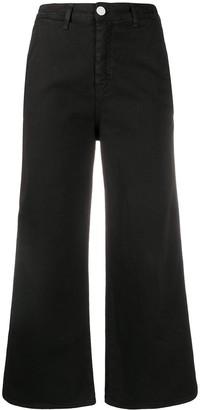 Frankie Morello Cropped Denim Jeans