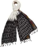 A & R Cashmere a&R Cashmere Handmade Ikat Scarf.