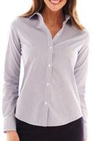Liz Claiborne Long-Sleeve Wrinkle-Free Shirt