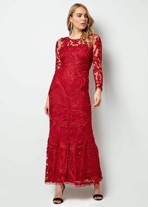 Phase Eight Aubree Tapework Lace Maxi Dress