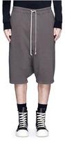 Rick Owens 'Pod' drop crotch sweat shorts