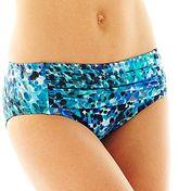 Liz Claiborne Animal Print Retro Hipster Swim Bottoms