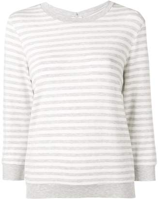Majestic Filatures striped fitted sweater