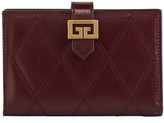 Givenchy GV3 Medium Quilted Leather Wallet
