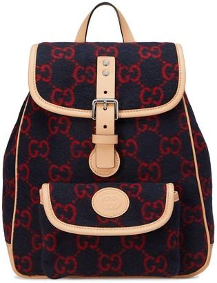 Gucci Kids GG Supreme backpack
