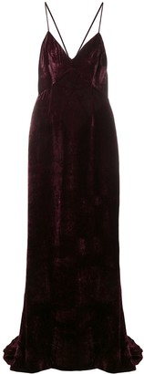Stella McCartney Paulina velvet dress