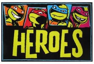 "Fun Rugs Ninja Turtles Heroes Area Rug Rug Size: 1'7"" x 2'5"""