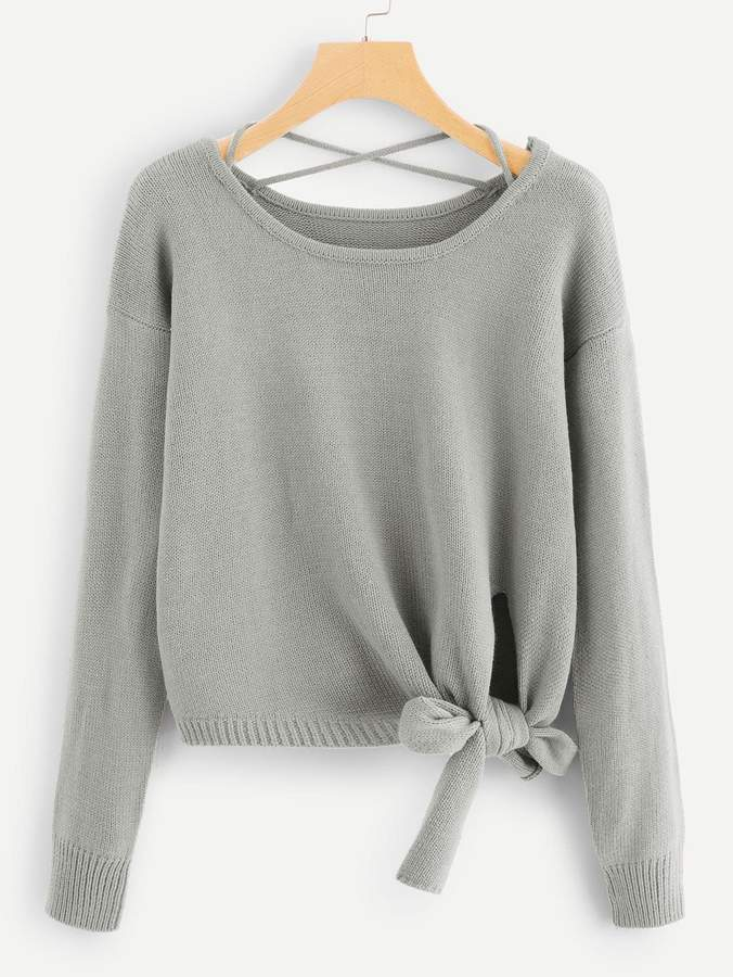 135a363aef Criss Cross Sweater - ShopStyle