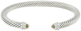 David Yurman 5mm Cable Bracelet (Citrine)