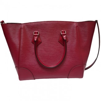 Louis Vuitton Phenix Burgundy Leather Handbags