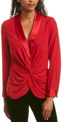 Donna Karan Silk-Blend Top