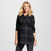 Maternity Flannel Button Down Tunic - Liz Lange® for Target