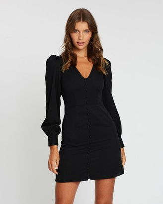 Atmos & Here Callie Button Front Dress
