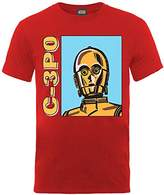 Star Wars Boys C-3PO Short Sleeve T-Shirt,12-13.5 (Manufacturer Size:12-13)