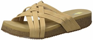 Volatile Women's Multi Band Woven Wedge Sandal