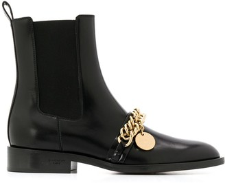 Givenchy chain detail Chelsea boots