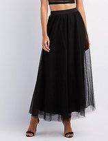 Charlotte Russe Tulle Full Maxi Skirt