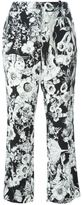 Roberto Cavalli floral print trousers