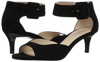 Pelle Moda Berlin (Black Suede) High Heels