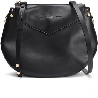 Jimmy Choo Artie Leather Shoulder Bag