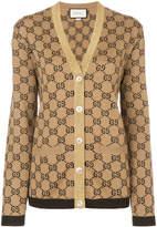 Gucci GG jacquard cardigan