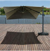 International Home Miami Atlantic Liberty Aluminum Patio Umbrella With Base