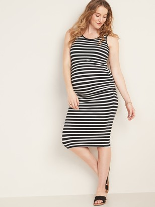 Old Navy Maternity Printed Jersey Bodycon Tank-Top Dress