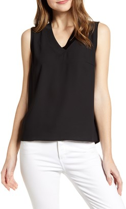 Ming Wang V-Neck Tank