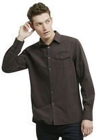 Kenneth Cole Long-Sleeve Button-Front Shirt With Zip