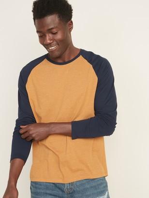 Old Navy Soft-Washed Color-Blocked Raglan-Sleeve Tee for Men