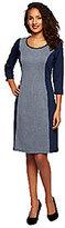 Liz Claiborne New York Petite Herringbone Knit Dress