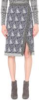 Altuzarra Jude paisley-print stretch-crepe skirt