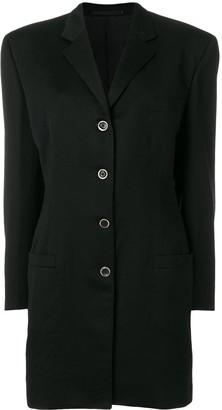 Versace Pre Owned Mid-Length Blazer