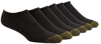 Gold Toe Cotton Cushion No Show Socks 6-Pack